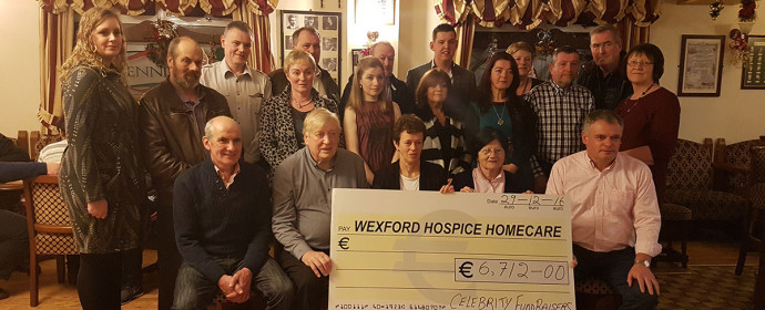 Many thanks to Celebrity Fundraisers from Taghmon