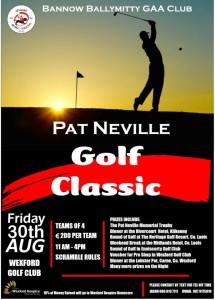 Pat Neville Golf Aug 2019